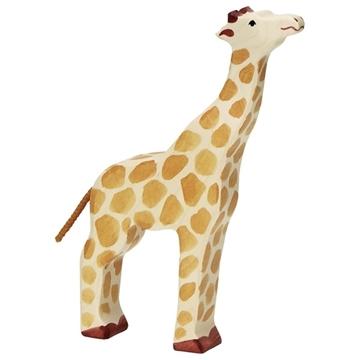 Слика на Жирафа со подигната глава