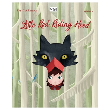 Слика на Little Red Riding Hood - Die-cut Reading