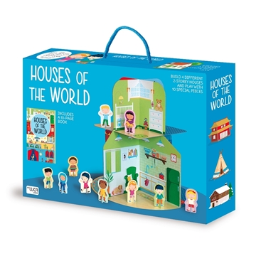 Слика на Houses of the World – Cardboard Playhouse plus Book