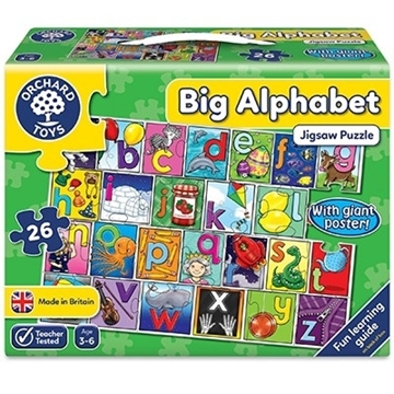 Слика на Big Alphabet Jigsaw Puzzle
