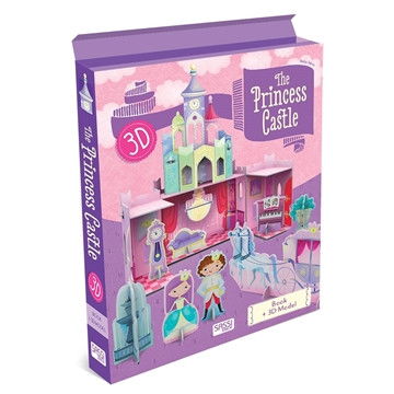Слика на The Princess Castle Book+3D Model