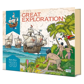 Слика на Great Exploration (Book and Santa Maria 3D Model)
