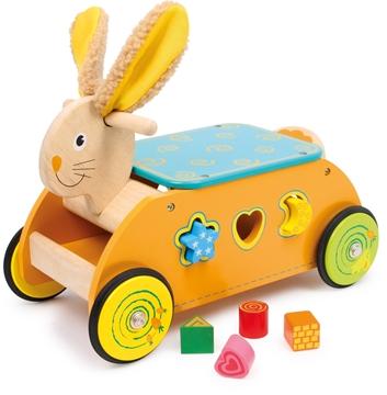 Слика на Rabbit Ride-on with Shape Sorter