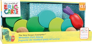 "Слика на The Very Hungry Caterpillar Pull Toy ""Colourful Companion"""