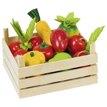 Слика на Fruit and vegetables in crate