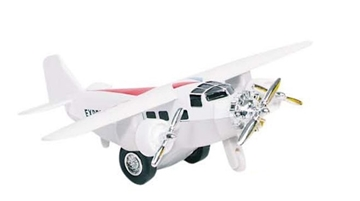 Слика на Airplane, die-cast, L= 14 cm (White)