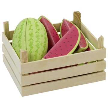Слика на Melons in fruit crate