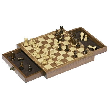 Слика на Magnetic chess set with drawers