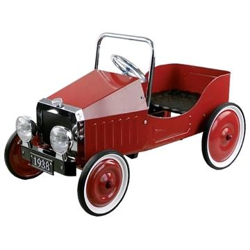 Слика на Кола со педали - Црвена (1938)