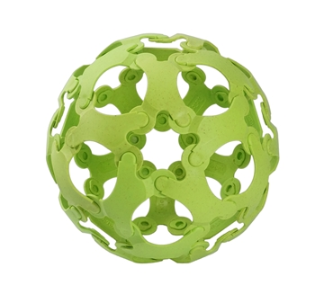 Слика на Binabo - сет за креативно играње - 36 парчиња - зелен