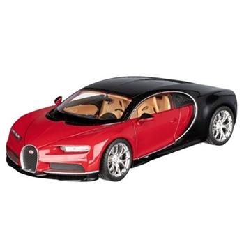 Слика на Bugatti Chiron, 1:24, L= 19 cm (црвена)