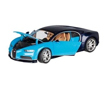 Слика на Bugatti Chiron, 1:24, L= 19 cm (сина)