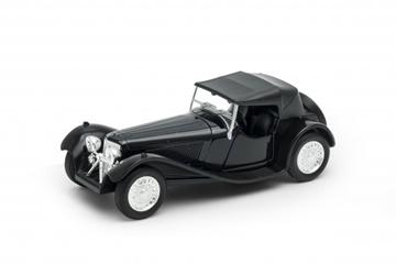 Слика на Jaguar SS 100 (black) Welly 1:34-39