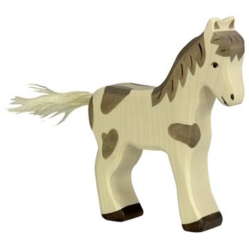 Слика на Коњче што стои, шарено