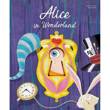 Слика на Alice in Wonderland - Die-cut Reading