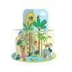 Слика на Animal Homes – Cardboard Playhouse plus Book