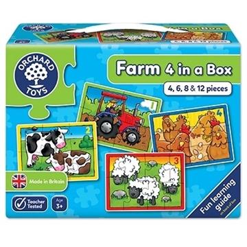 Слика на Farm Four in a Box Jigsaw