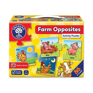 Слика на Farm Opposites - Activity Puzzles