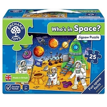 Слика на Who's in Space Jigsaw