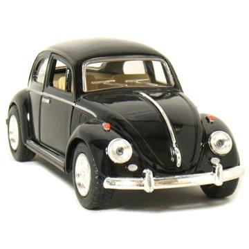 Слика на 1967 Volkswagen Classic Beetle 1:32 Scale (Black)