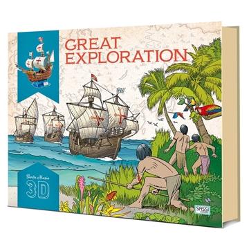 Слика на Great Exploration (Book and Santa Maria 3D Model)
