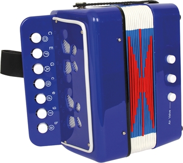 "Слика на Accordion ""Blue"""
