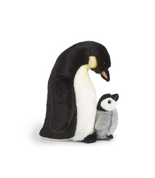 Слика на Пингвин со пиленце (27 cm)