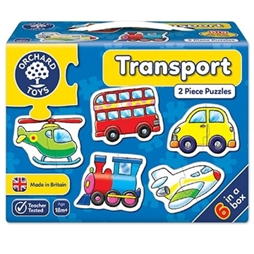Слика на Transport Jigsaw Puzzle