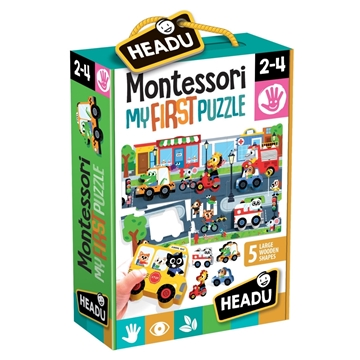 Слика на Montessori My First Puzzle - The City