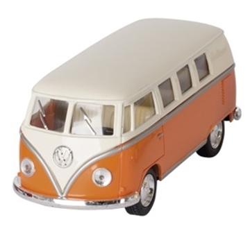 Слика на Volkswagen Classical Bus (1962), die-cast,1:32, L= 13,5 cm - Orange