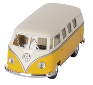 Слика на Volkswagen Classical Bus (1962), die-cast,1:32, L= 13,5 cm - Yellow