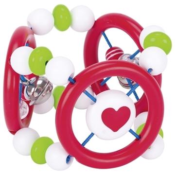 Слика на Еластична играчка за бебе - Срце