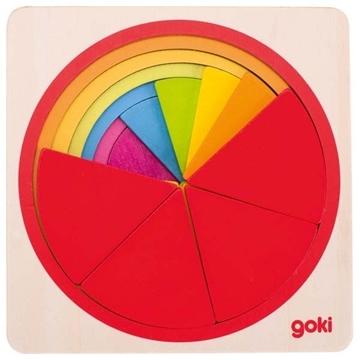 Слика на Goki - Повеќеслојна сложувалка - Круг