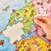 Слика на World Map Puzzle & Poster
