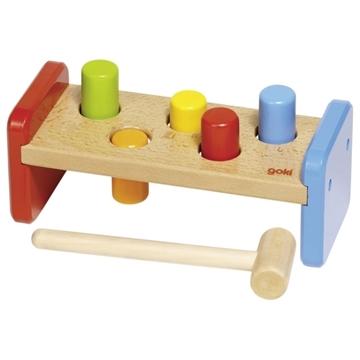 Слика на Играчка за удирање со чеканче - Goki