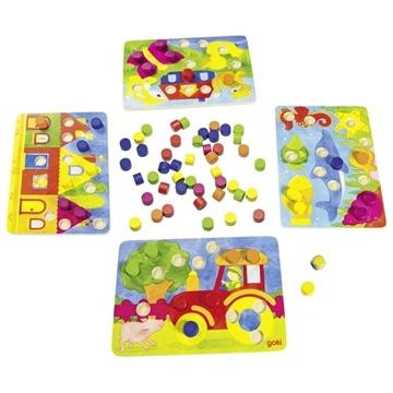 Слика на Игра со бои и коцка