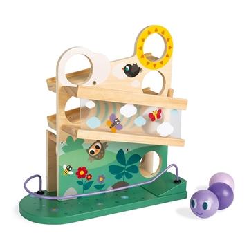 Слика на Дрвена играчка - Патека со гасеница