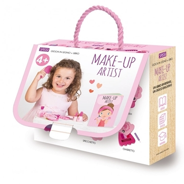 Слика на Make-Up Artist  - Book and Wooden Toy