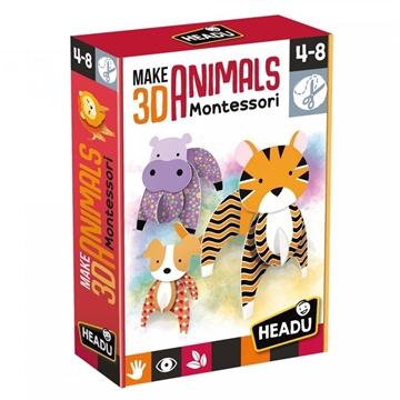 Слика на Направете 3Д животни - Montessori