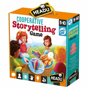 Слика на Кооперативна игра за деца со раскажување
