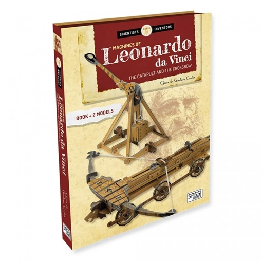 Слика на Machines of Leonardo Da Vinci. The Catapult and the Crossbow