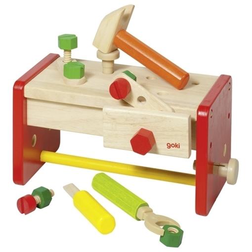 Слика на Работилница - кутија со алати - Goki