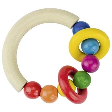 Слика на Алка за допирање - Полукруг со топчиња и прстени - Heimess
