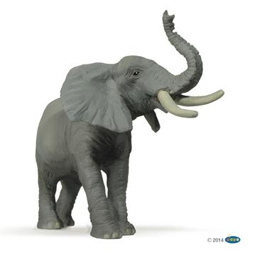Слика на Слон што труби