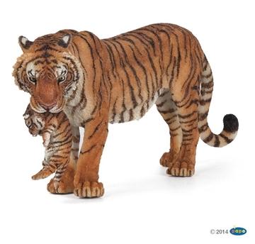 Слика на Тигрица со младенче
