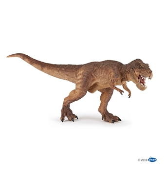 Слика на Тираносаурус што трча