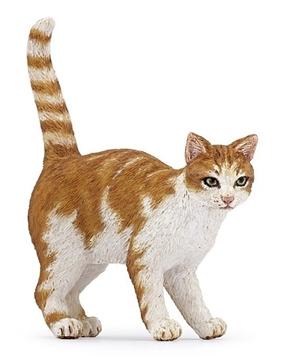 Слика на Мачка - кафено-бела