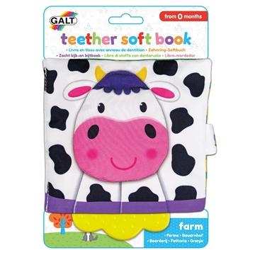 Слика на Мека книга за гризење - Фарма