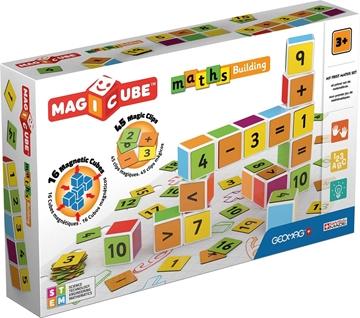 Слика на Магични коцки - Математика (16 коцки) - Geomag