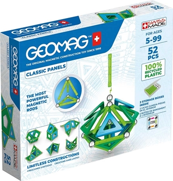 Слика на Магнетен конструктор Класик (52 парчиња) - Geomag